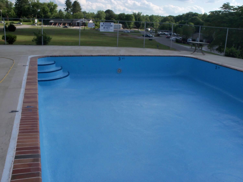 swimming pool liner after Granitex™ coating