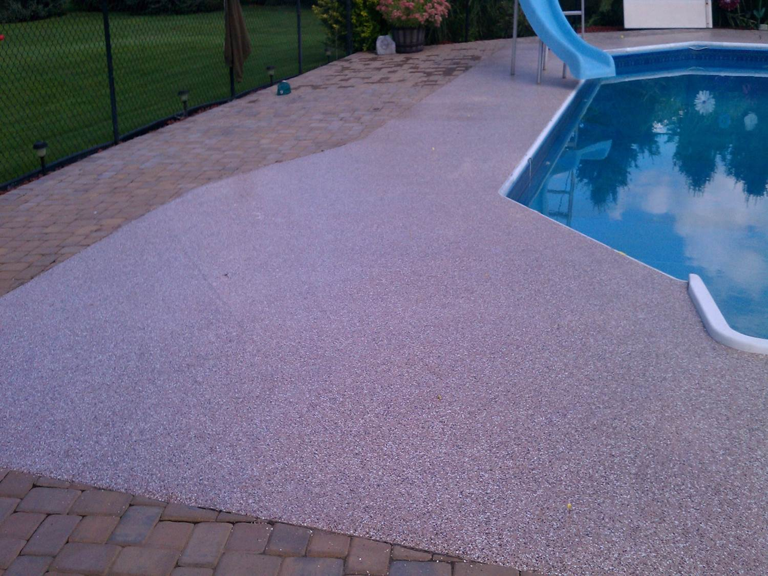 Granitex™ around the pool