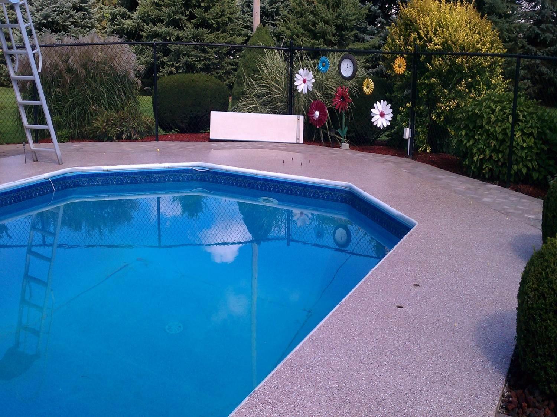 Granitex™ around the pool
